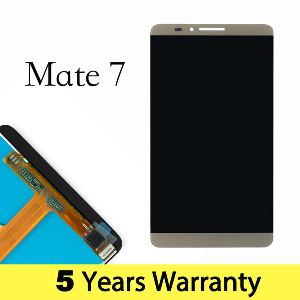Telefone móvel lcd para huawei companheiro 7 display substituição mt7 MT7-TL10 MT7-UL00 display para huawei companheiro 7 tela de toque Mt7-L09