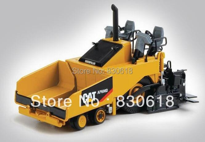 1:50 Масштаб литья под давлением модели Norscot CATERPILLAR CAT AP600D асфальтоукладчик 55259 строительных машин игрушка