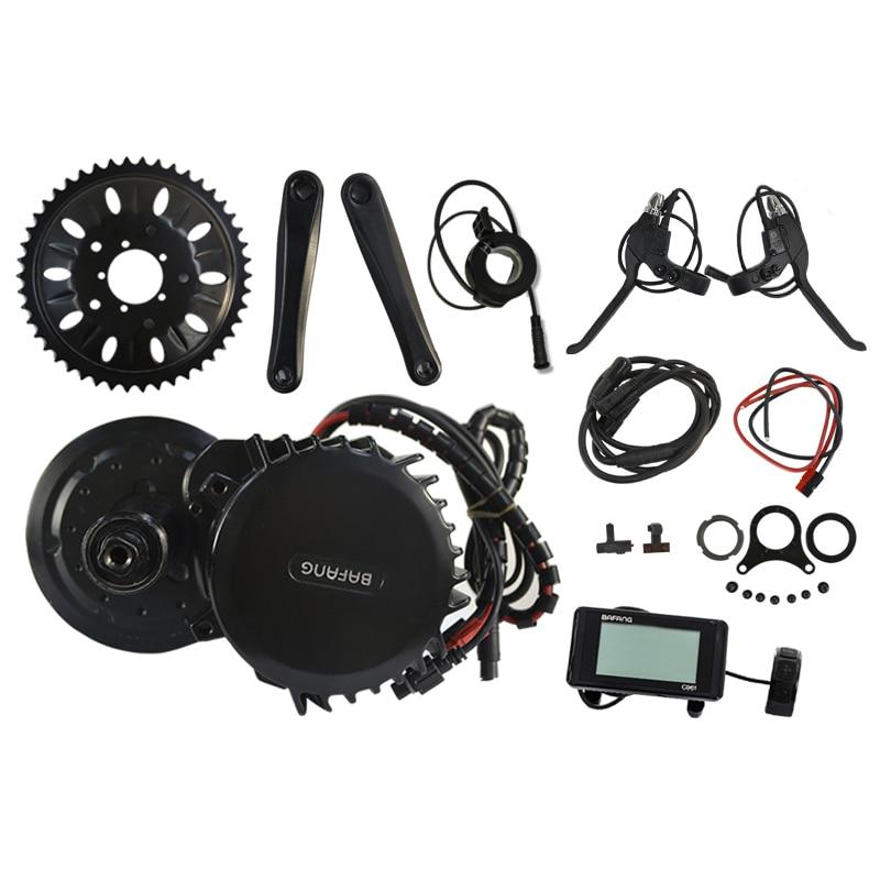 Bafang 8Fun 48 V 1000 W 68mm 46 T BBS BBS03 BBSHD Mi Lecteur moteur Kit de Conversion Vélo Électrique Du Moteur Au Milieu Kit C961 C965 850C