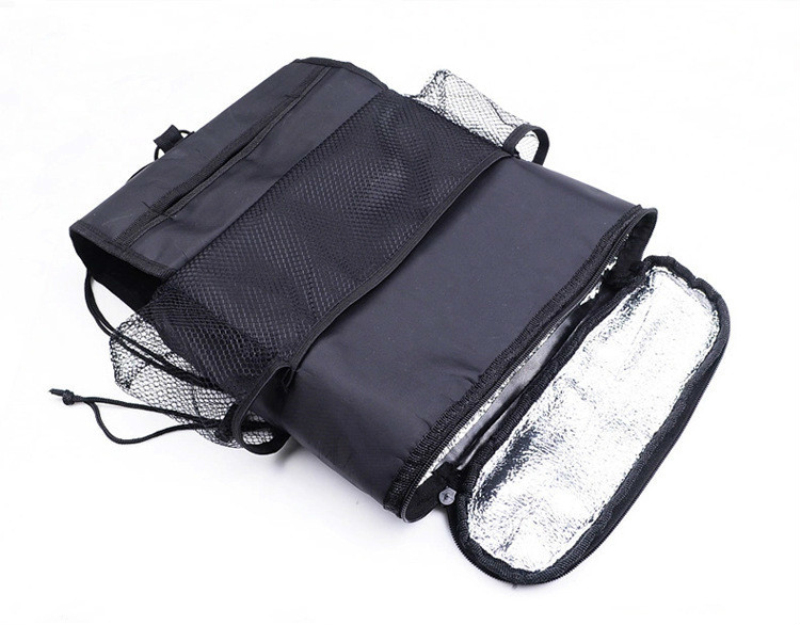 Travel Accessories Hanging Type Vehicle Ice Bag Thermal Insulation Fresh-keeping Chair Multifunctional Automobile Storage Bag