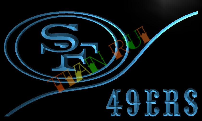 Ld513 San Francisco 49ers Football Led Neon Light Sign Home Decor Shop Crafts China