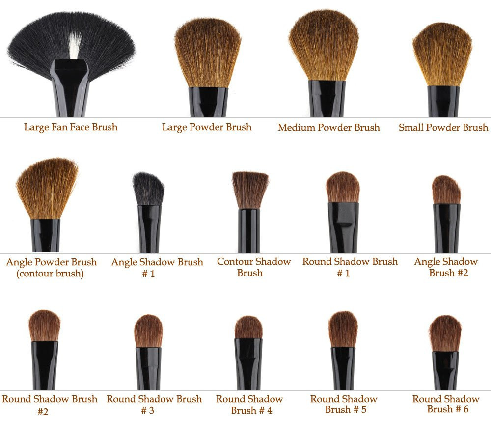 MagicWands - 32PCS/Set Professional Cosmetic Brushes with Bag