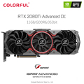 Original Colorful iGame GeForce RTX 2080 Ti Advanced OC 11GB Video Graphics Card GDDR6 VR Gaming 1635MHz DP HDMI USB Type-C