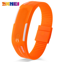 SKMEI Running Digital Watches Women Luxury Silicone Band Complete Calendar Display Girls Ladies Colorful Wristwatches 1099