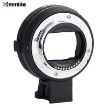 Commlite 電子 AF レンズキヤノン EF/EF S レンズ e マウントカメラソニー A7 a9 A7II A7RII A7RIII A6500 など。