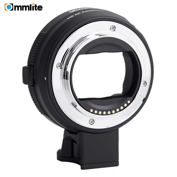 Commlite Electronic AF Lens Adapter Ring for Canon EF/EF-S Lens to E-Mount Cameras for Sony A7 A9 A7II A7RII A7RIII A6500 etc.