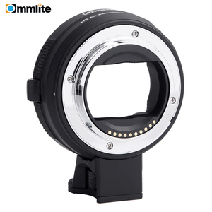 Image 1 - 소니 a7 a9 a7ii a7rii a7riii a6500 등을위한 e 마운트 카메라에 캐논 ef/EF S 렌즈 용 commlite 전자 af 렌즈 어댑터 링