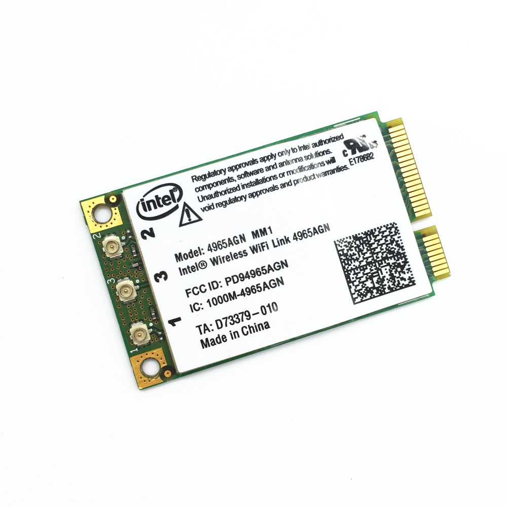 DRIVER UPDATE: INTEL PROWIRELESS 4965AGN MINI-PCI EXPRESS