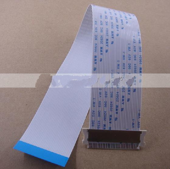 2x FFC FPC Ribbon Flat 200mm x 30pin 0.5mm Pitch Flex cable opposite direction