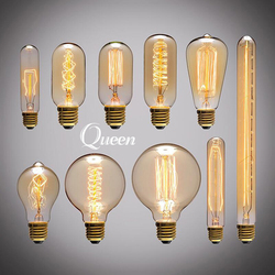 Lampada edison bulb lamp light vintage socket e27 outdoor lighting 40w filament 220v bulb diy rope.jpg 250x250