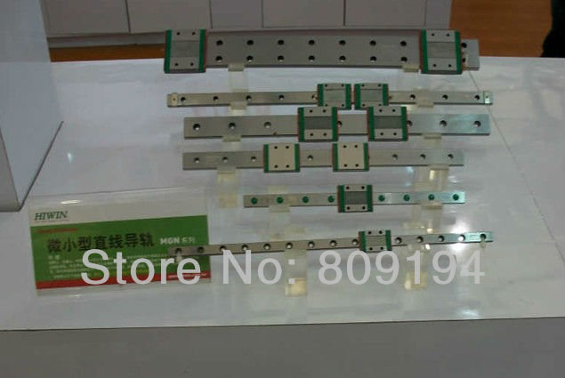 100mm  HGR15 HIWIN  linear guide rail from taiwan hiwin linear guide rail hgr15 from taiwan to 1000mm