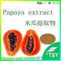 100% натуральный Ферментированный папайи порошок выдержки/Фруктовый Порошок Папайи/папайи порошок 800 г/лот