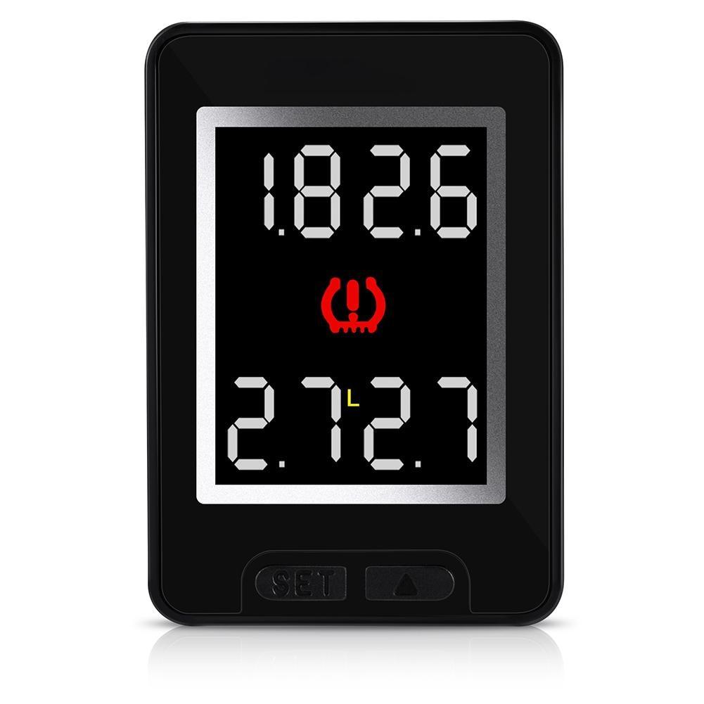 Voiture TPMS système de surveillance de pression des pneus LCD surveillance sans fil avertissement de température capteurs externes/internes pour Toyota r15