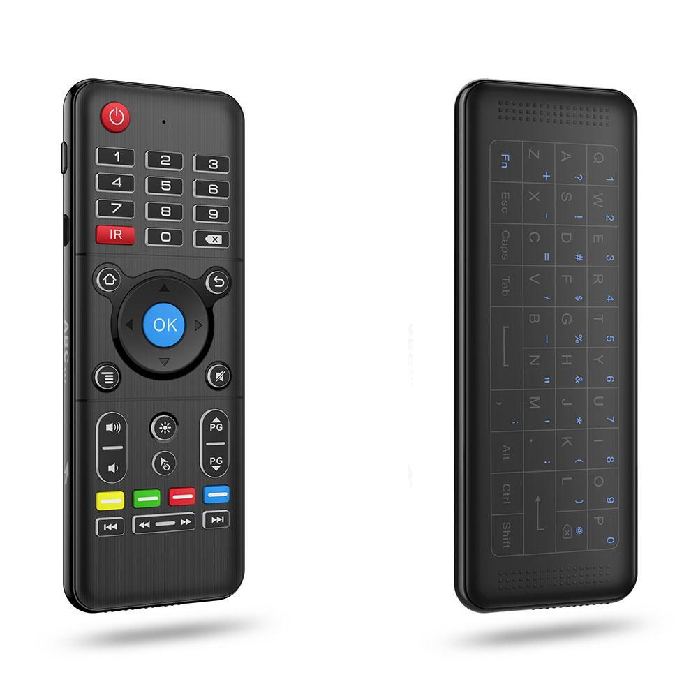 buy h1 2 4ghz air mouse with backlight backlit wireless keyboard remote control. Black Bedroom Furniture Sets. Home Design Ideas
