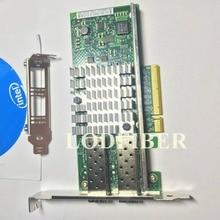 אינטל X520 DA2 10 Gigabit 10GBe SFP הכפול יציאת Ethernet שרת מתאם