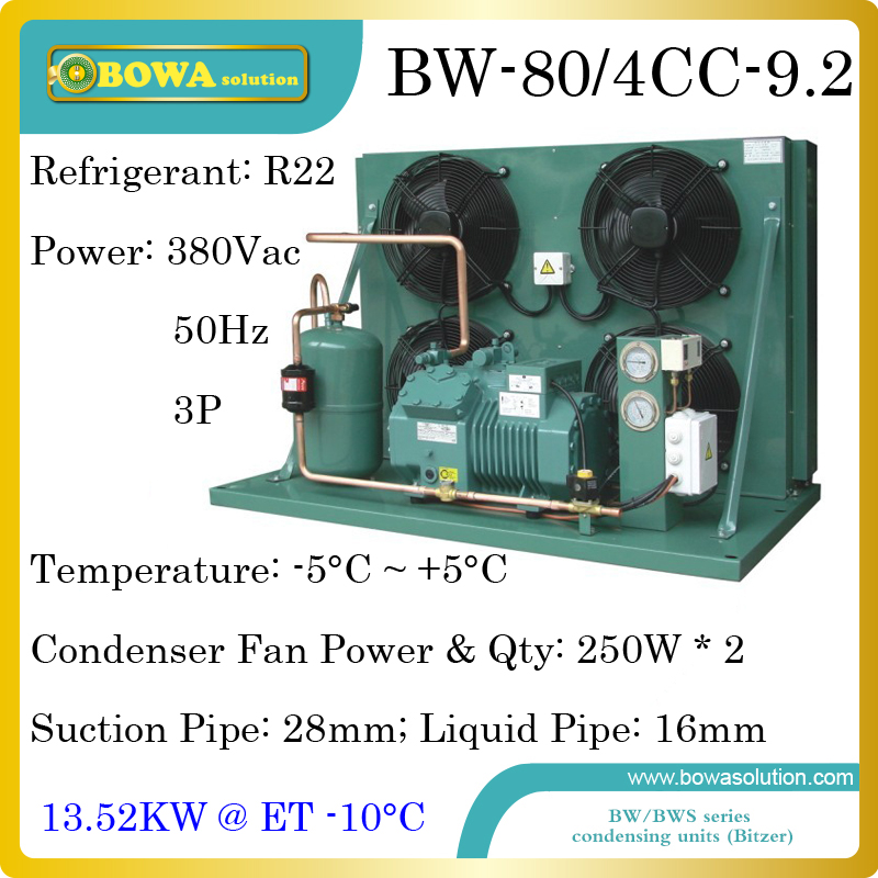 5780dollars Buy 9hp Hbp Air Cooled Condensing Unit With Bitzer Reciprocating Compressor Suitable For Moulds Temperature Machine Top Watermelons