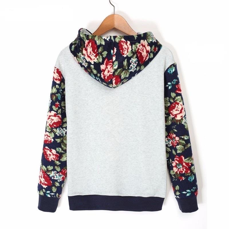 HTB1Uk90RpXXXXbrapXXq6xXFXXX2 - Floral Printed Hoodies