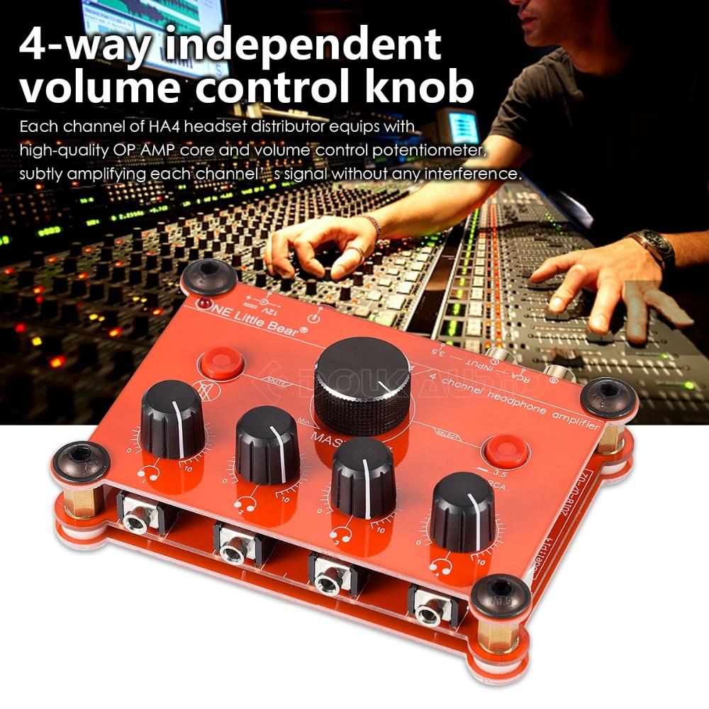 Studio Stereo Headphone Amplifier