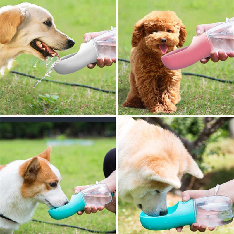 Draagbare Pet Bekers Drinken Fles Hond Kat Gezondheid Voeden Water Feeders Pet Travel Cups ABS Hond Fles Water Reizen hond Kom
