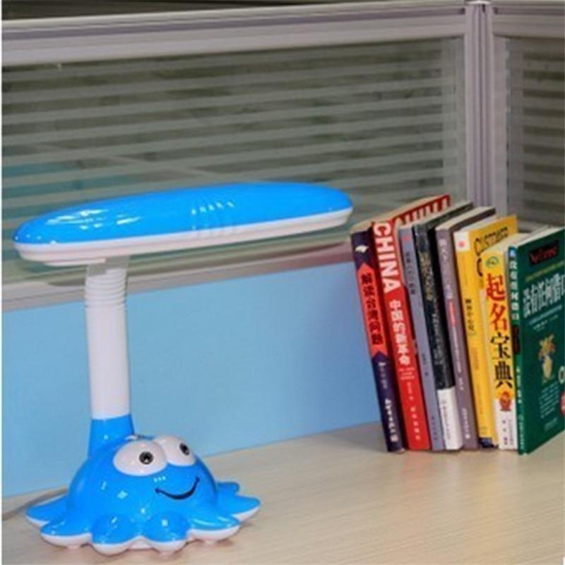 цены 11W LED Table Light Eye Protection Reading Book Desk Lamp Plug in Dormitory Children Student Bedroom Bedside Learning Lighting