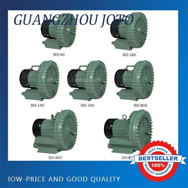 19M3/H Industrial Mini Air Vacuum Pump 0.16 kw Air Blower Compressor HG-160
