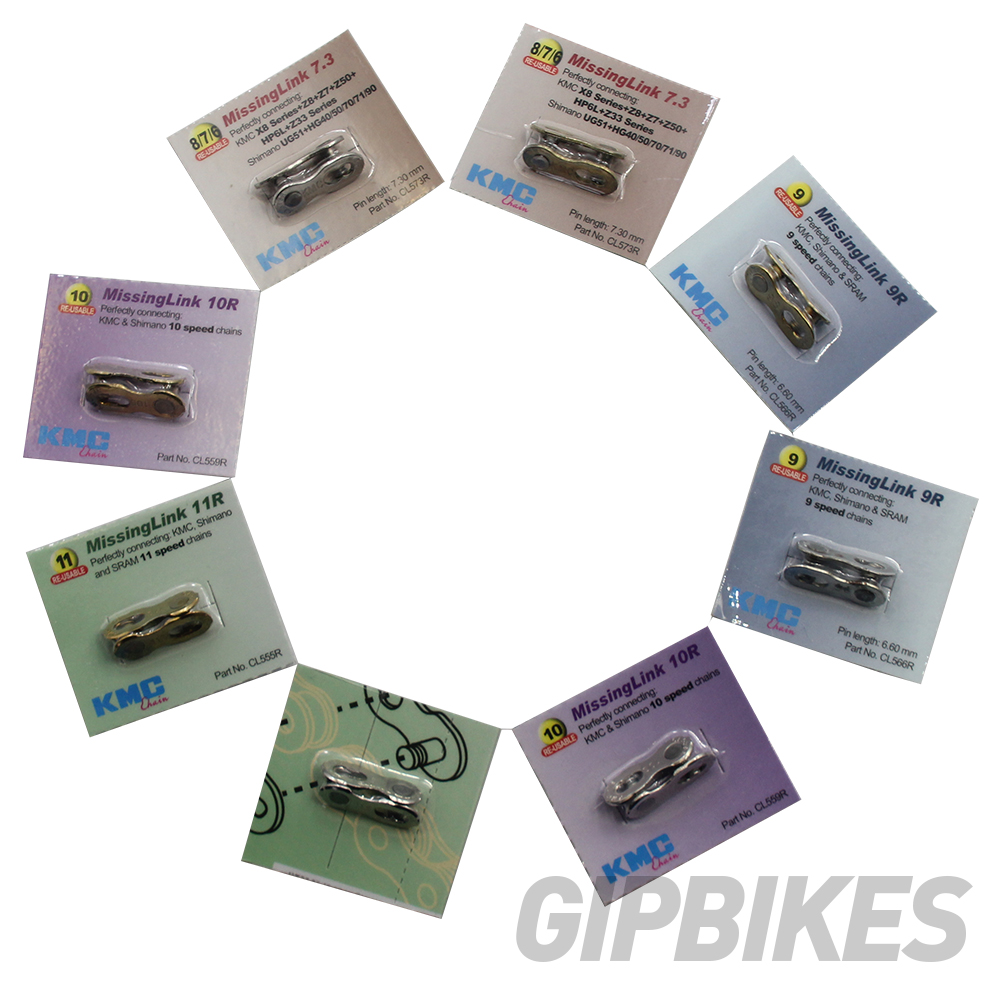 New KMC Missing Link 9 Connector For 6.6mm 9 Speed Chain