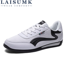 LAISUMK Summer Mens Shoes Breathable Mesh Casual Men Luxury Brand Fashion Footwear Spring Autumn Sneakers