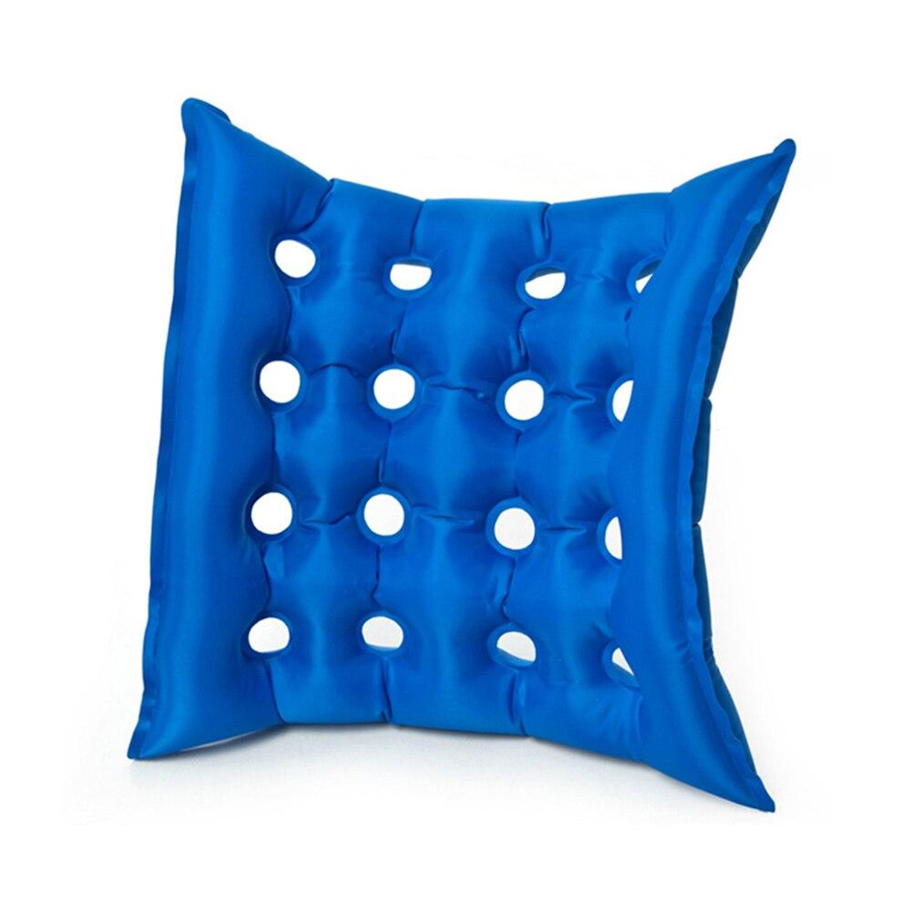 Anti-Decubitus Cushions Breathable Square Pad Medical PVC Flocking Inflatable Seat Cushion DC120