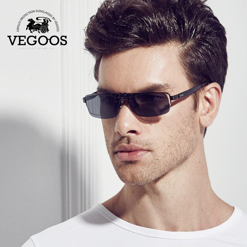 Vegoos бренд desiner близорукость поляризованные Солнцезащитные очки для женщин объектив клип человек Защита от солнца Очки для Для мужчин Для же...