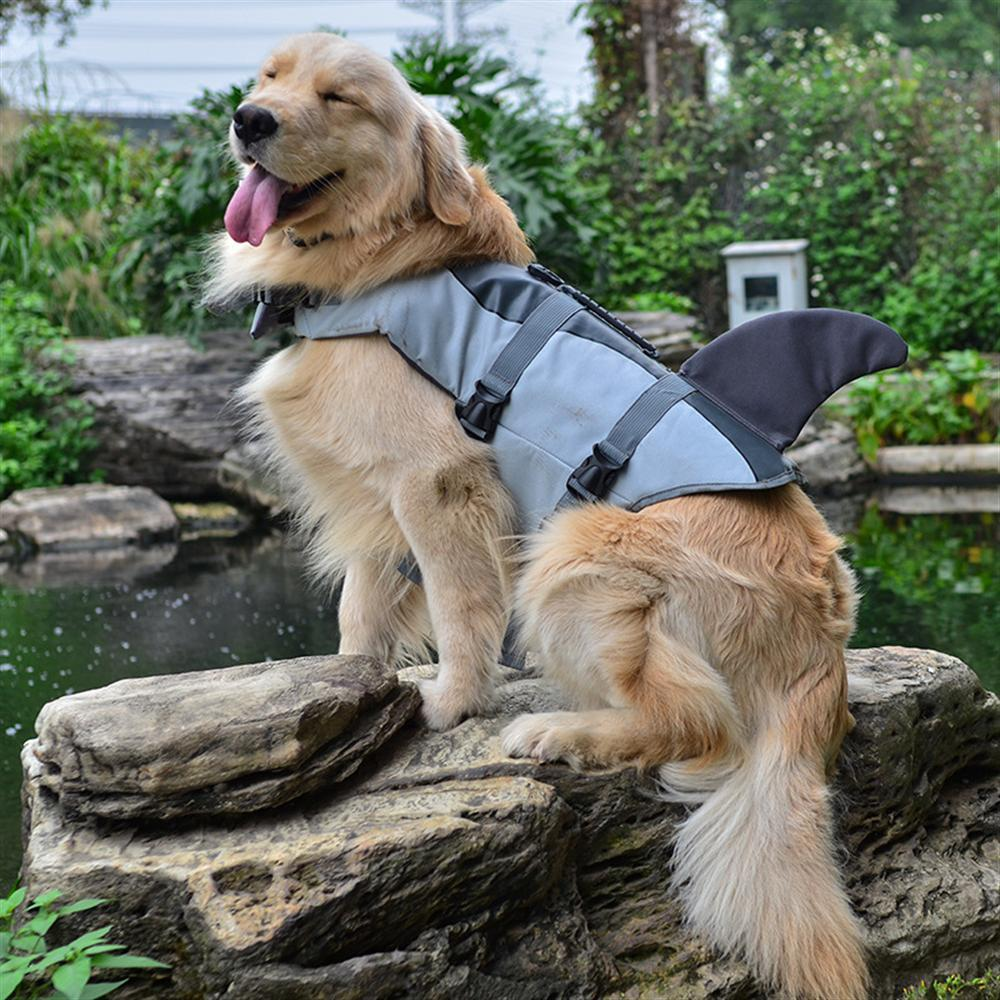 Newest Dog Life Vest Summer Pet Dog Life Jacket Safety Summer Dog Clothes Cute Mermaid Shark Dog Costume S/M/L