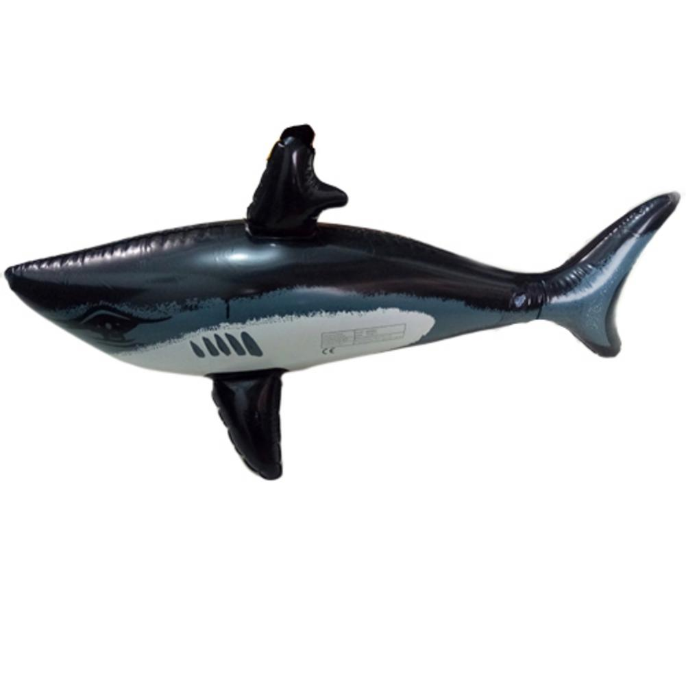1PC Inflatable Beach Sport Toy Children's Swimming Pool Play Party Water Game Balloons PVC Shark Shape Toys