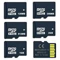 Promotional Memory Card 10pcs 128MB 256MB 512MB 1GB 2GB TF card Memory TransFlash flash card Mini TF card Dropshipping