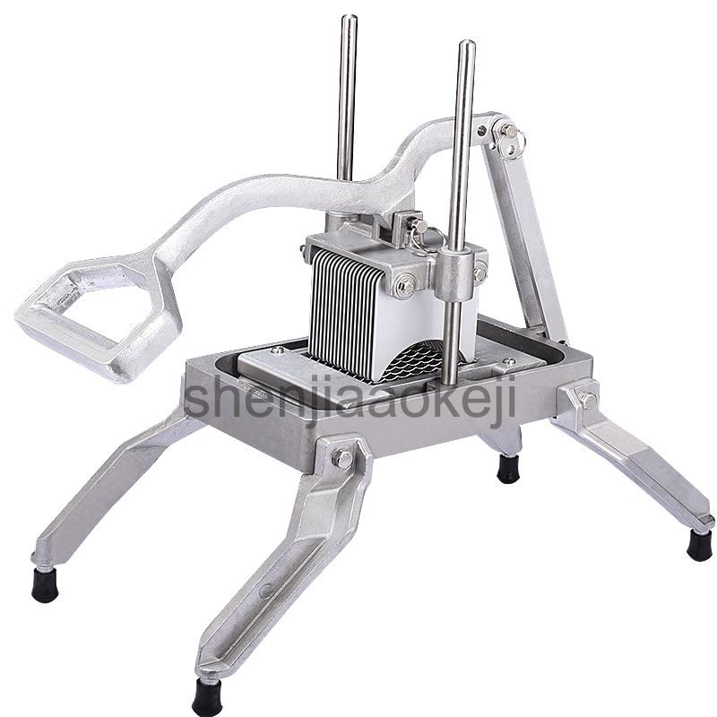 Cutting machine Slicer Cutting potato radish cucumber onion machine Aluminum alloy manual slicing machine slicing cutters 1pc