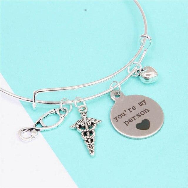 12pcs Lot Friendship Bracelet Gray S Anatomy Friendship Bracelets