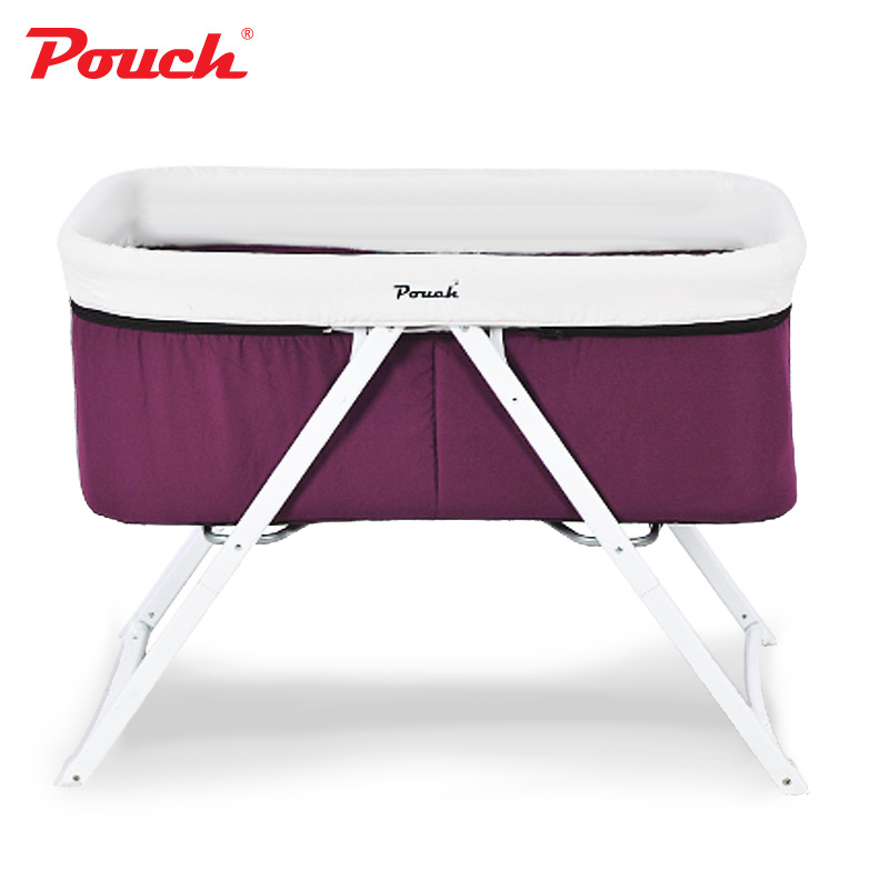 Pouch crib multi-function folding newborn cradle bed portable side bed H19Pouch crib multi-function folding newborn cradle bed portable side bed H19