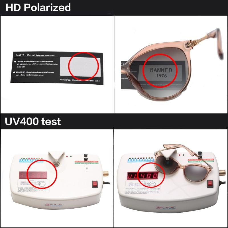 2019 New Luxury HD Polarized Women Sunglasses Fashion Round Ladies Vintage Brand Design cat eye woman Female Sun Glasses oculos 3