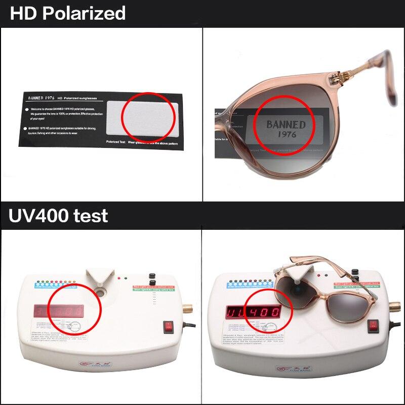 2019 New Luxury HD Polarized Women Sunglasses Fashion Round Ladies Vintage Brand