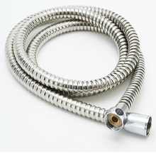 1.5m Handheld Shower Hose Soft Shower Pipe Silver Color Common Flexible Bathroom Water Pipe Stainless steel