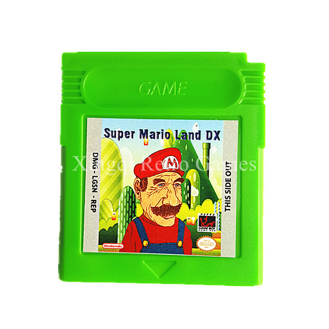 Nintendo GBC Game Super Mario Series English Language