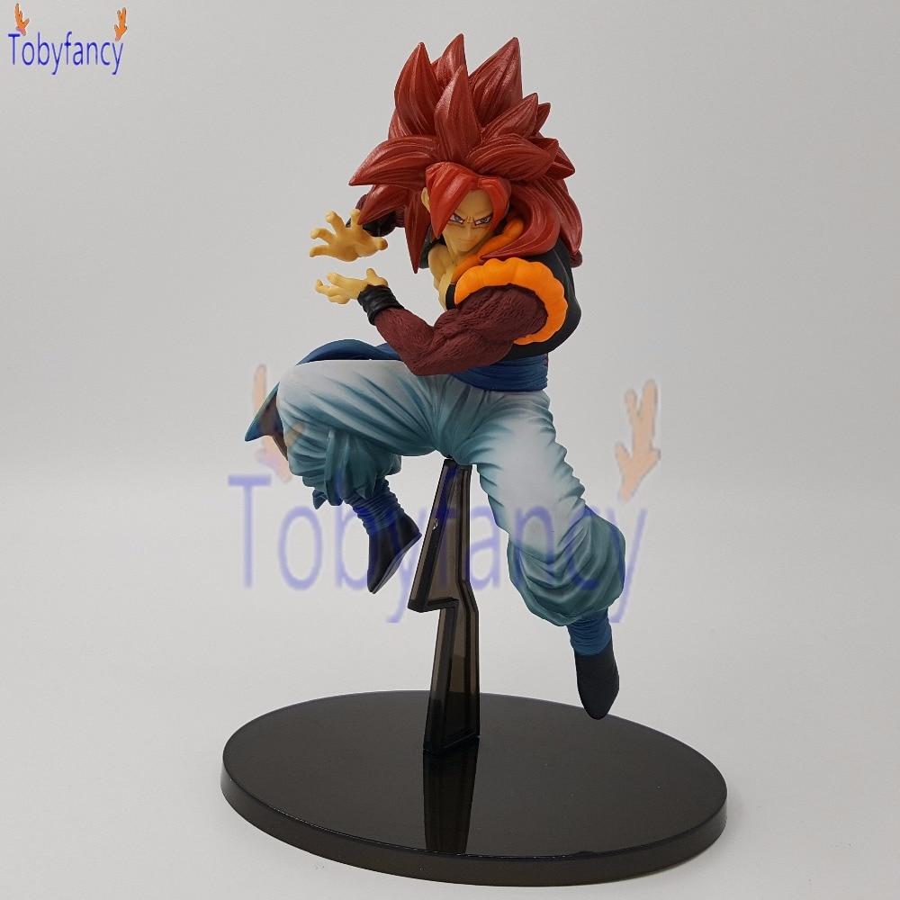 Dragon Ball Z Gogeta SSJ4 Sculture SC 7 Action Figures Anime Dragon Ball Super Original Vegeta Goku Toy dragon ball z figurines son goku gogeta