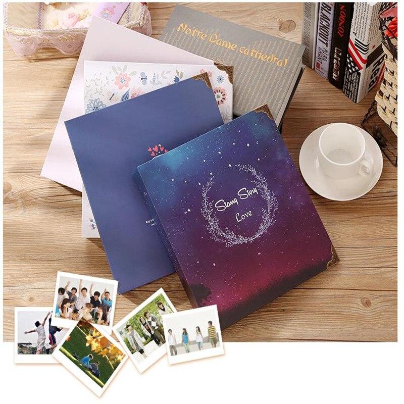 DIY Scrapbook Photo Album Weeding Travel Baby Album Craft Handmade Craft Paper Wedding Memory Photo Album with funny cards in Photo Albums from Home Garden