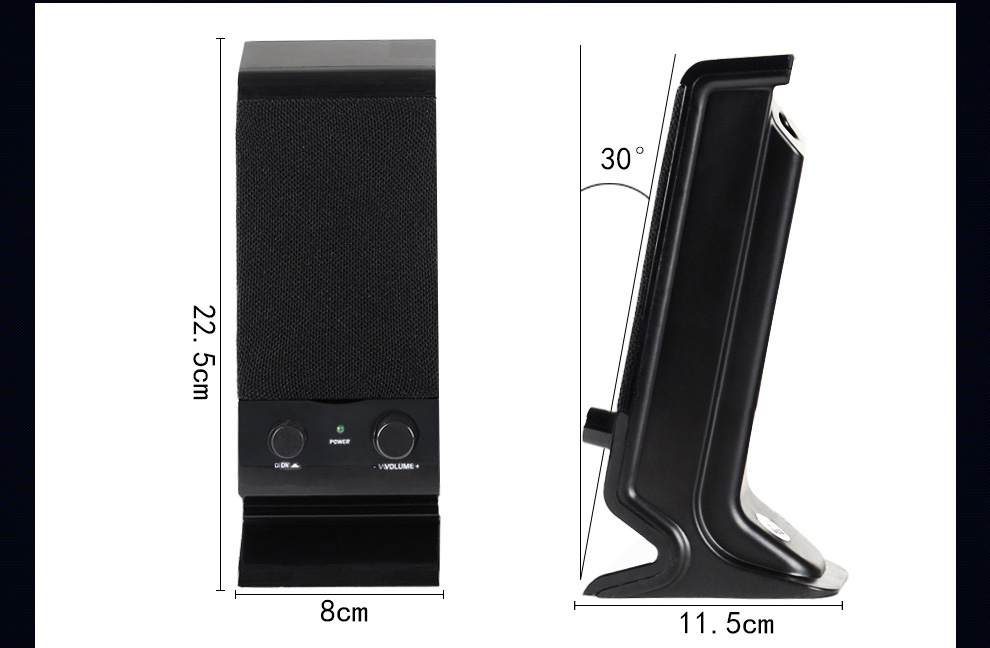 0e1022b682 SADA V-112 Computer Speakers