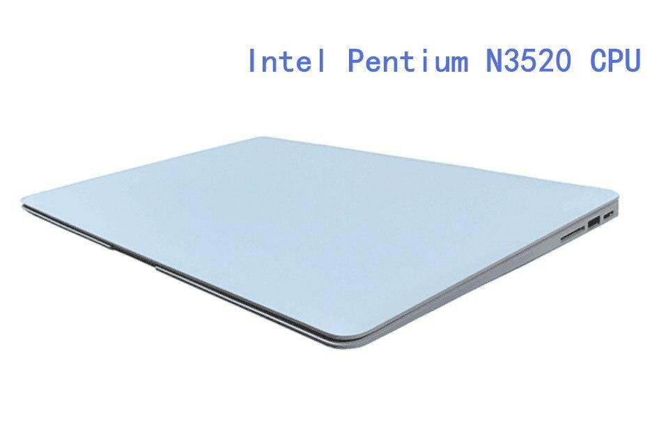 8GB RAM+120G SSD+750GB HDD Intel Pentium N3520 2.166GHZ 14.1