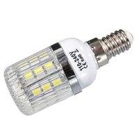 E14 5 W ניתן לעמעום 27 SMD 5050 אור LED תירס מנורת הנורה טמפרטורת צבע: לבן טהור (6000-6500 K) כמות: 10 יחידות