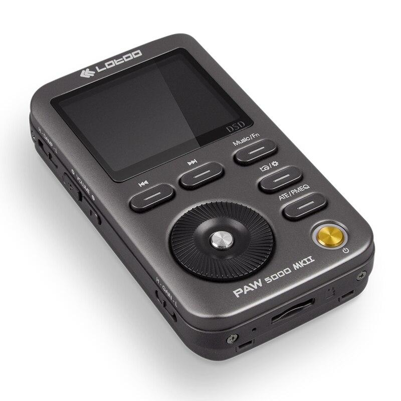 Hi-Fi musique lecteur MP3 patte 5000 MKII portable AKM Premium série DAC puce AK4490 DSD64/DSD128/DSD25 32bit/384 KHz USB3.0 JABEN