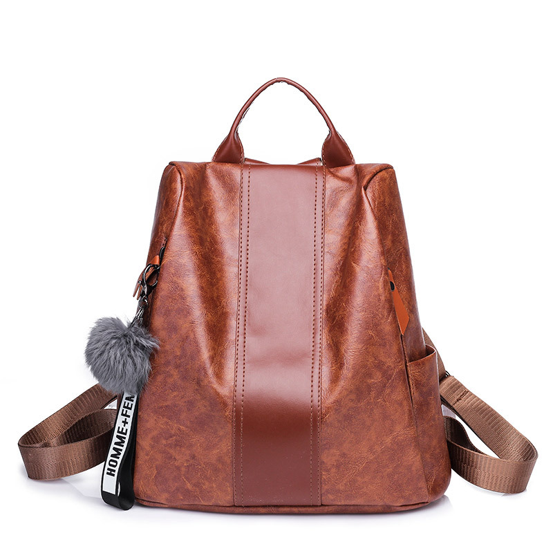 2018 Fashion Women Backpack High Quality Youth Leather Backpacks for Teenage Girls Female School Shoulder Bag Bagpack mochila