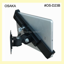 7 to 13 inch tablet security wall mount with lock bracket display mounting for samsung galaxy tab a pro s note 10 inch 8 inch - Tablet Wall Mount