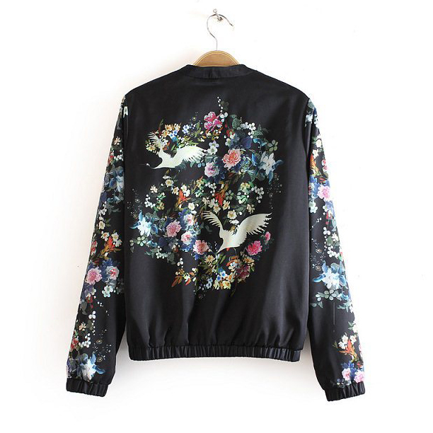 Aliexpress.com : Buy WJK7678307 Women Satin Bomber Jacket In