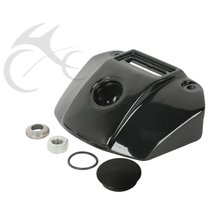 Motorcycle Headlight Black Chrome Mount Bracket For Harley Sportster XL 883 1200 92-13