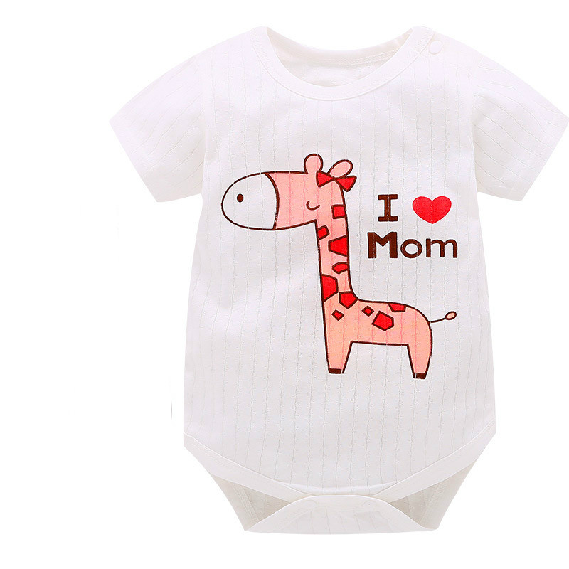 HTB1UkCPnaSWBuNjSsrbq6y0mVXa0 New Summer Baby Boys Romper Animal style Short Sleeve infant rompers Jumpsuit cotton Baby Rompers Newborn Clothes Kids clothing